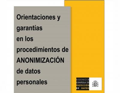 Garantías de anonimización