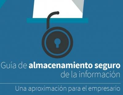 Guia almacenamiento seguro de información