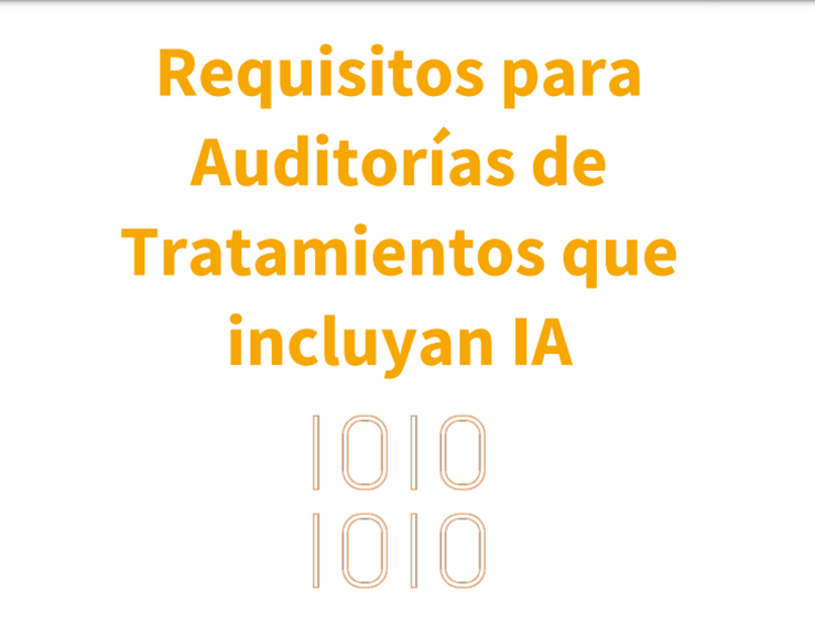 Auditorías IA por las AEPD
