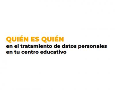 Protección de datos centro educativo