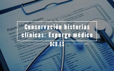 Conservación historias clínicas