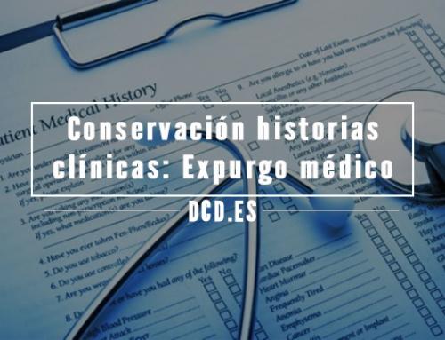 Conservación de historias clínicas: Expurgo de documentos médicos