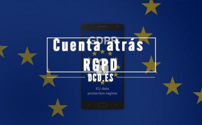 Cuenta atrás para la entrada en vigor del RGPD