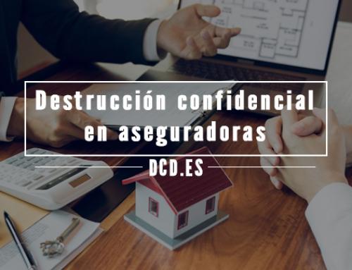 Destrucción confidencial en aseguradoras