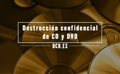 Destrucción confidencial de CD y DVD