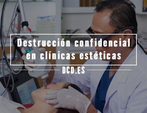 Destrucción confidencial en clínicas estéticas