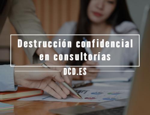 Destrucción confidencial en consultorías