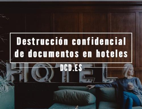 Destrucción confidencial de documentos en hoteles