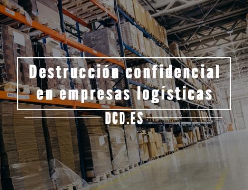 Destrucción confidencial en empresas logísticas