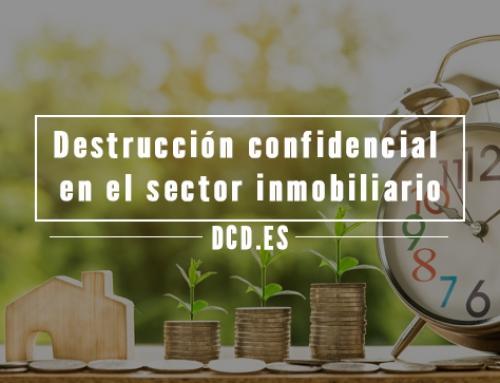Destrucción confidencial en el sector inmobiliario