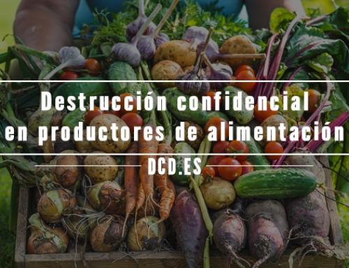 Destrucción confidencial en productores de alimentación