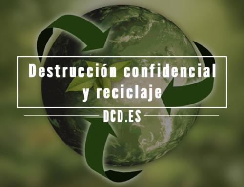 Destrucción confidencial y reciclaje: una apuesta segura