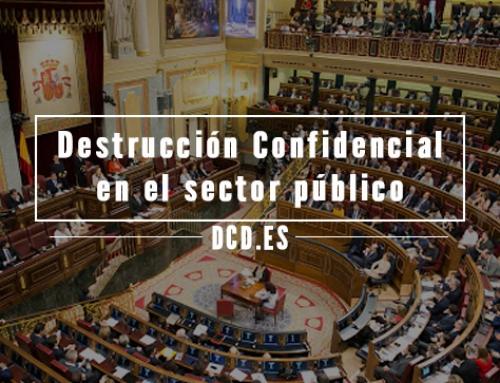 Destrucción confidencial en el sector público