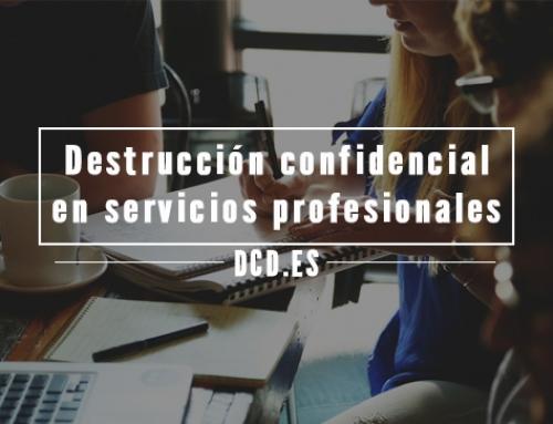 Por qué la destrucción confidencial es imprescindible para las empresas de servicios profesionales