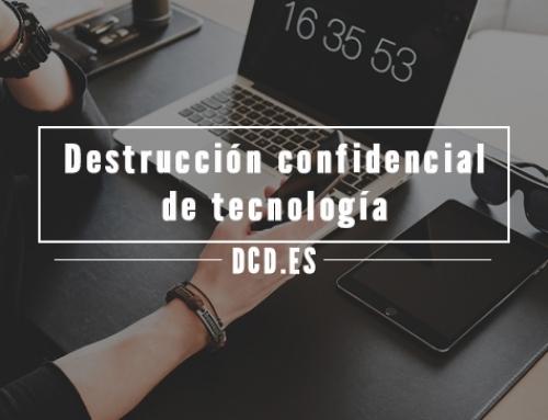 5 preguntas sobre destrucción confidencial de tecnología