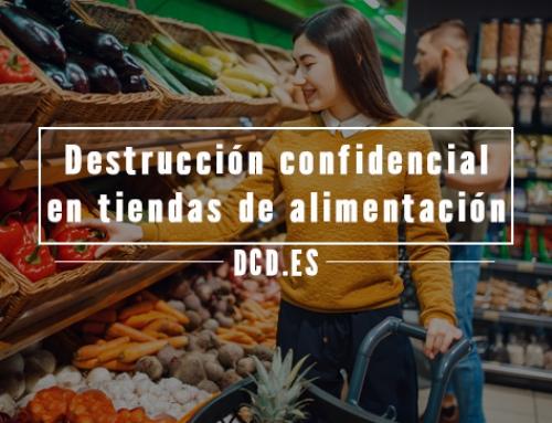 Destrucción confidencial en tiendas de alimentación