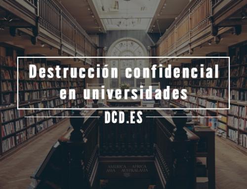 La destrucción confidencial en Universidades