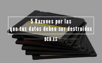 destruccion datos soportes