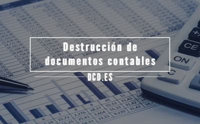 Destrucción de documentos contables
