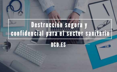 destruccion confidencial sector sanitario