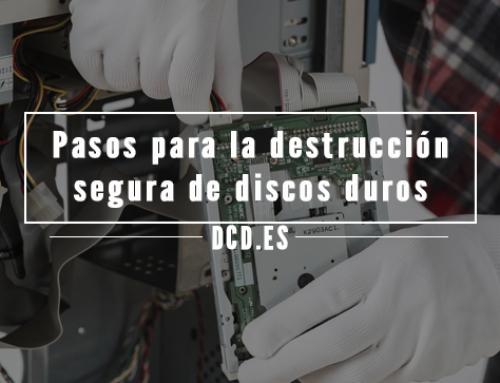 Pasos para la destrucción segura de discos duros