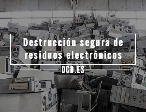 Destrucción segura de residuos electrónicos: qué destruir y por qué