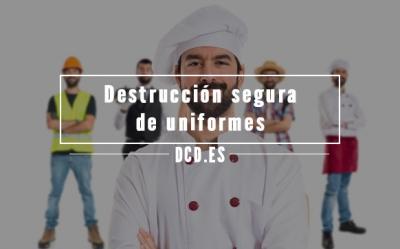 destruir los uniformes de tu negocio de forma segura