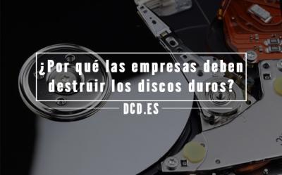 Destruir discos duros