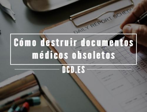 Cómo destruir documentos médicos obsoletos