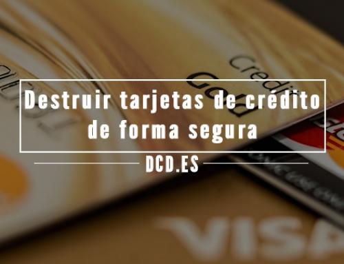 Cómo destruir tarjetas de crédito de forma segura