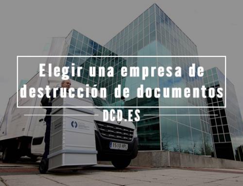 Consejos para elegir una empresa de destrucción de documentos