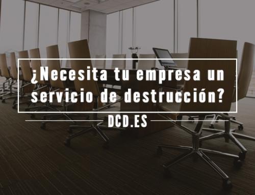 ¿Necesita tu empresa un servicio de destrucción confidencial?