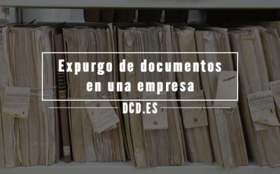 Expurgo de documentos en una empresa