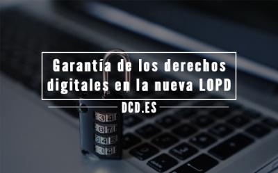 Garantía de los derechos digitales