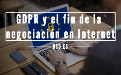 GDPR en internet