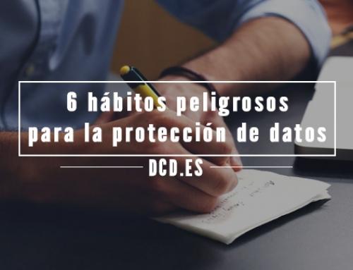 6 hábitos que pueden perjudicar la seguridad de los datos en una empresa
