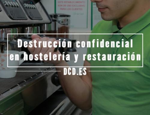 Destrucción confidencial en hostelería y restauración