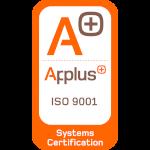 Certificación APPLUS ISO 9001:2008 - DCD-Destrucción confidencial de datos  y documentos