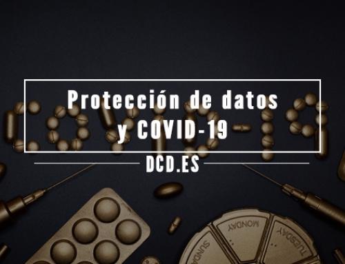 Protección de datos y COVID-19