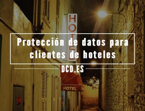 Protección de datos para clientes de hoteles