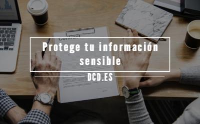 Protege tu información sensible