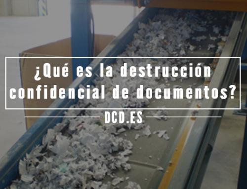 ¿Qué es la destrucción confidencial de documentos?