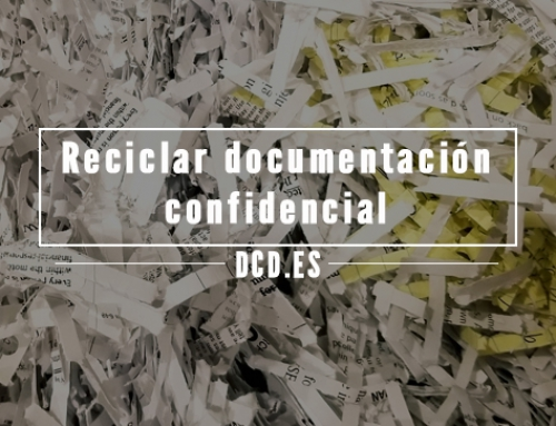Cómo reciclar la documentación confidencial