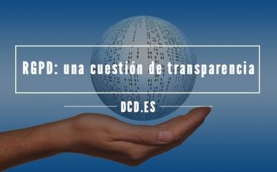 RGPD Transparencia Datos