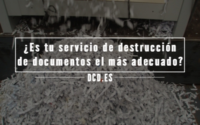 Servicio de destrucción de documentos