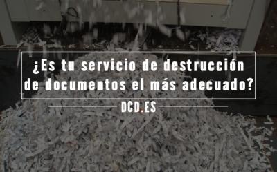 Servicio de destrucción de documentos