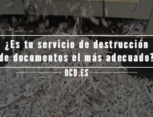 ¿Es tu servicio de destrucción de documentos el más adecuado para tu empresa?