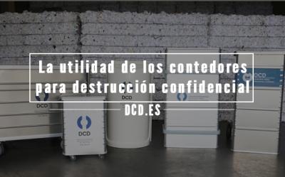 contenedores para destrucción confidencial