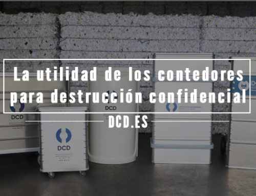 La utilidad de los contenedores para destrucción confidencial